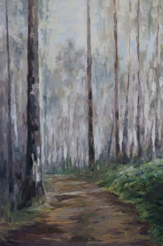 Road to Everyday 36 x 24 inch oil on canvas by Terrill Welch 2013_04_16 106