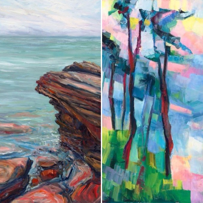 Earth and Water: A Conversation on Edge with artists Terrill Welch