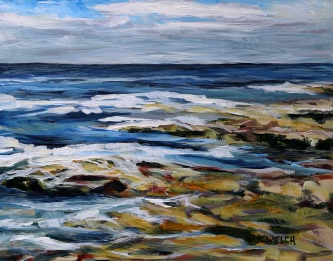 Salish-Sea-late-August-morning-11-x-14-inch-acrylic-plein-air-sketch-on-gessobord-by-Terrill-Welch-2015_08_20-092.jpg
