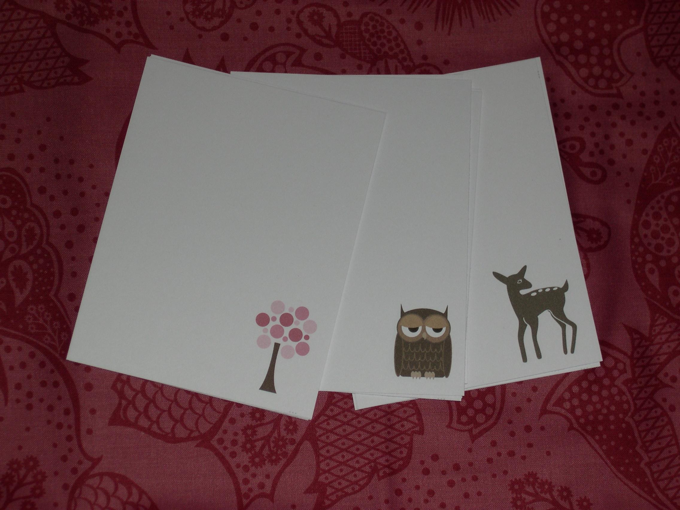 littlebrownpen notecards