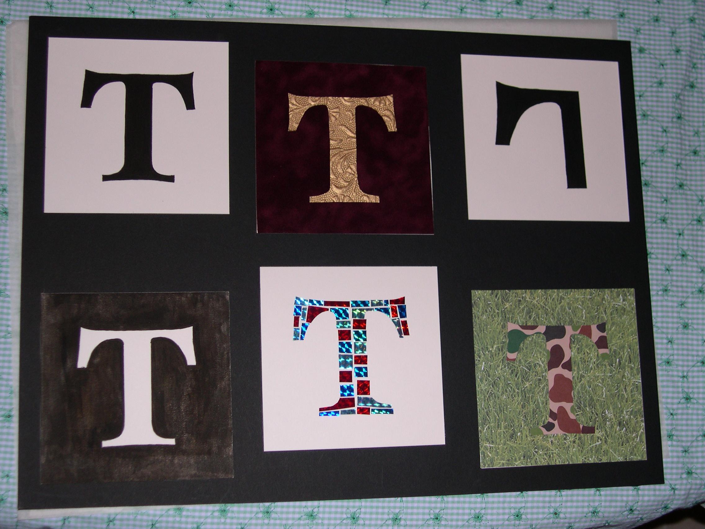 Letterform Study