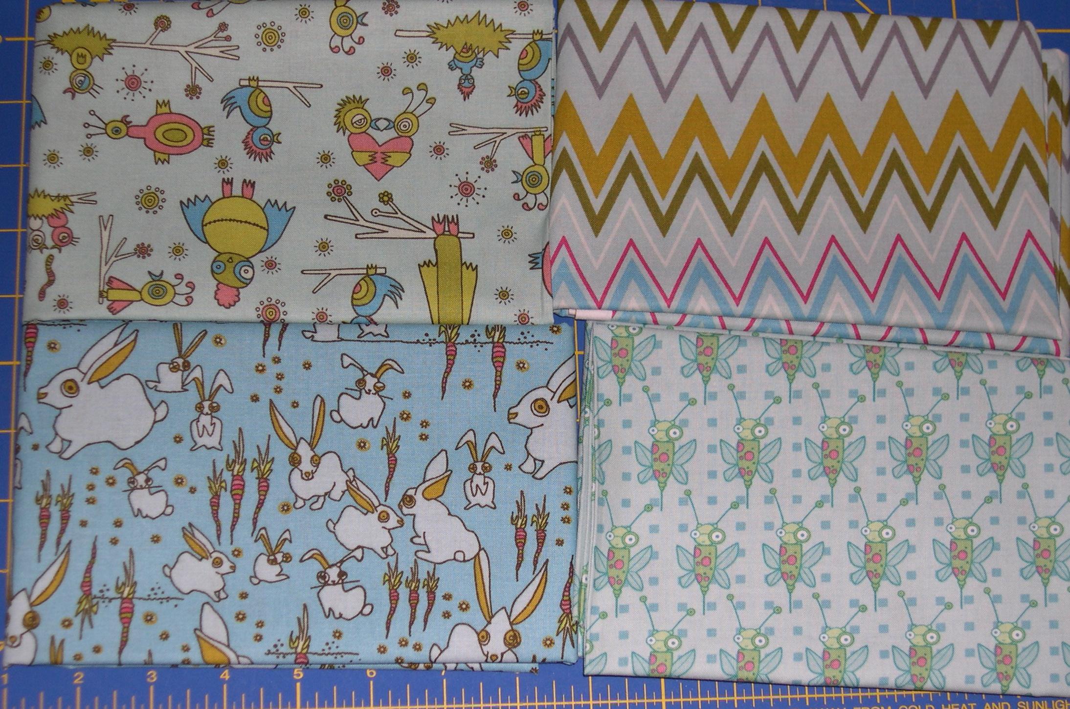 garden friends fabrics