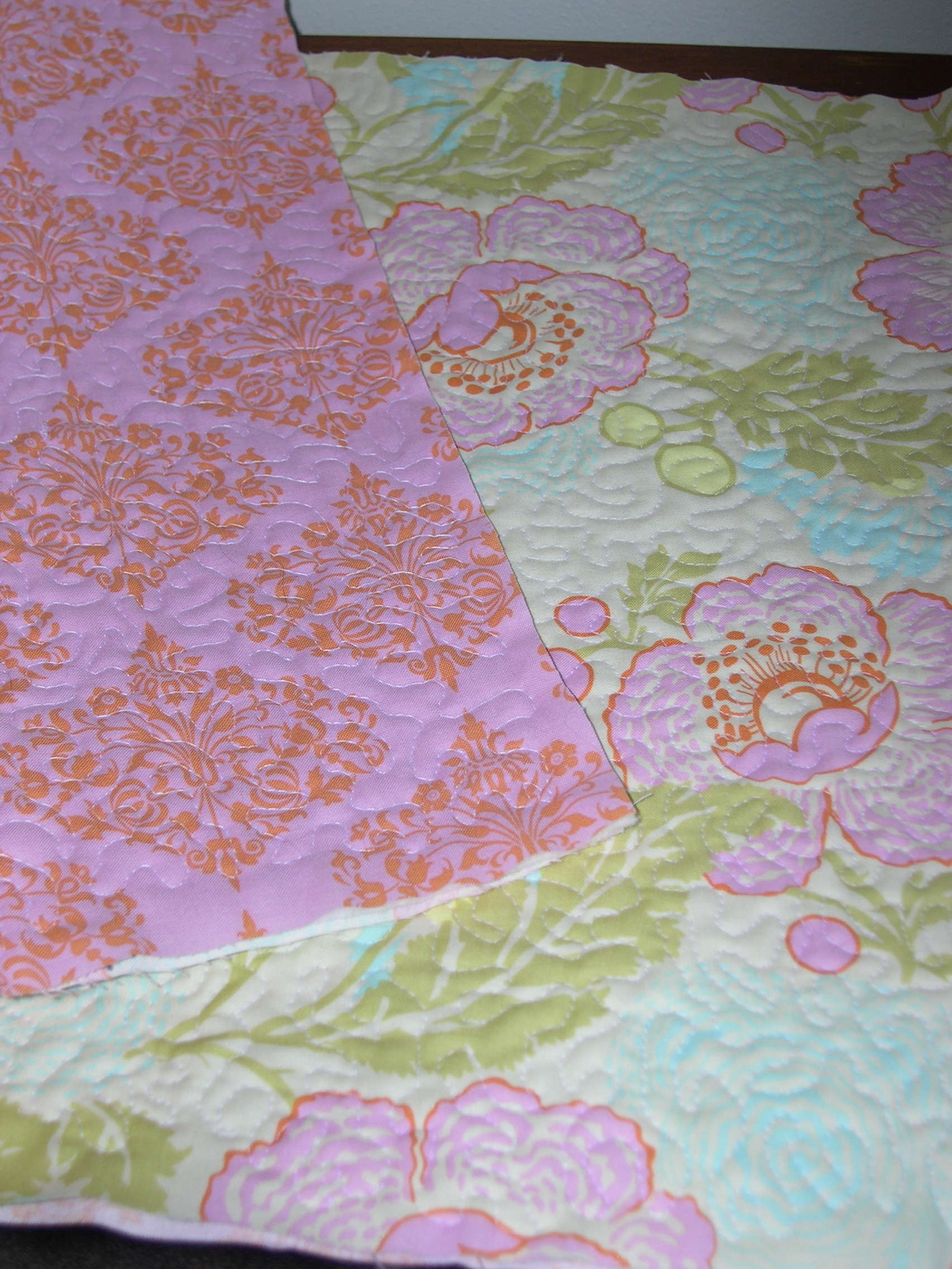 free motion on fat quarters