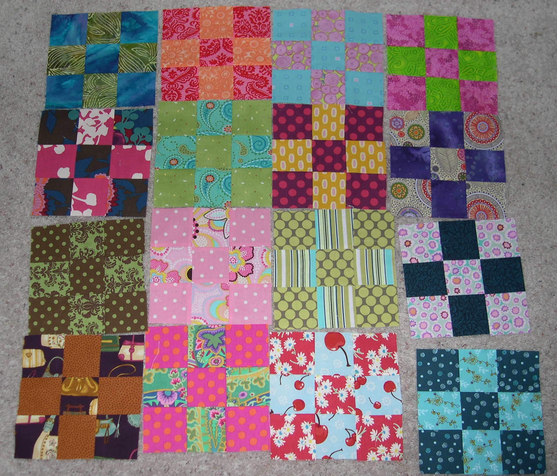 9-patch swap month 1