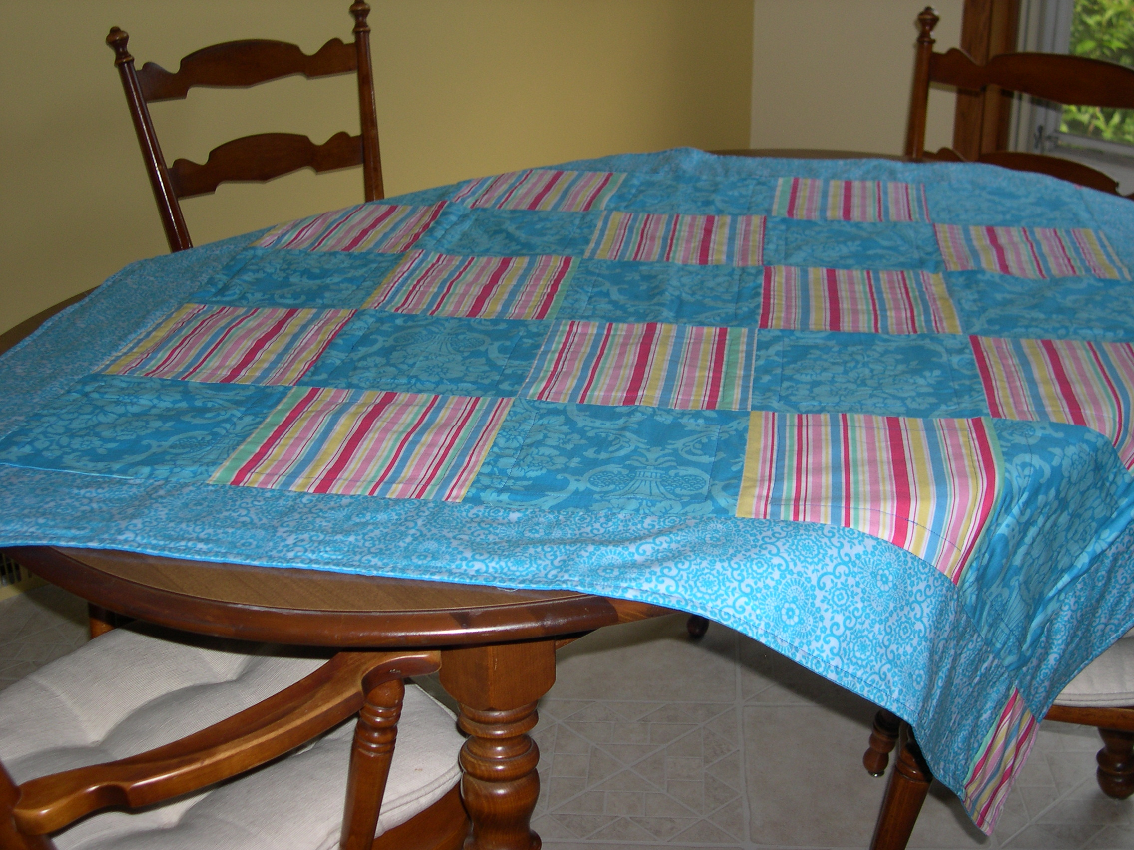 new tablecloth