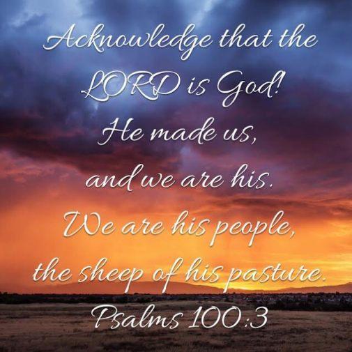 Psalms 100.3