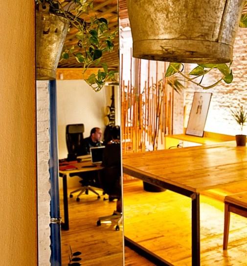 Detalles del Coworking La Bañera. Fotografía: Davide Lorenzoni