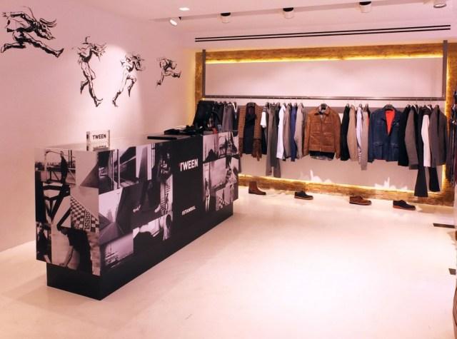 Interiorismo y decoración de tienda Tween