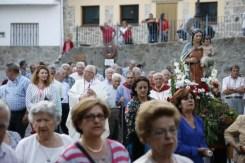 Martes 8: bajada de la Virgen y parada en la Plaza