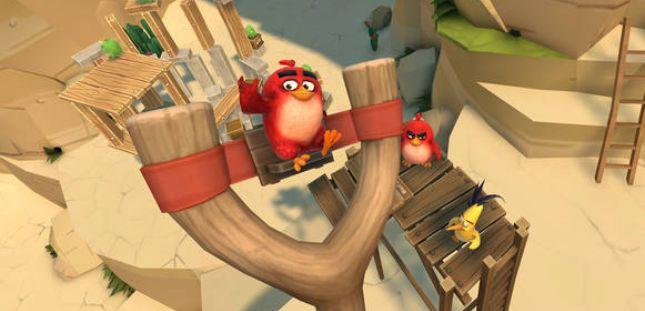Angry Birds en realitat virtual
