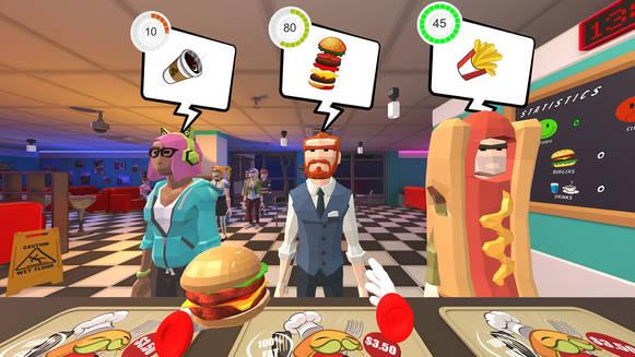 Jocs de cuinar en realitat virtual