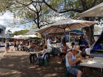 Street food at Parap markets