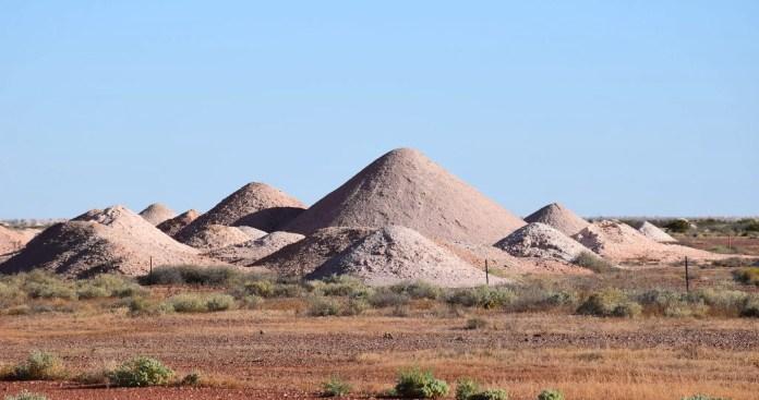 Coober Pedy mines