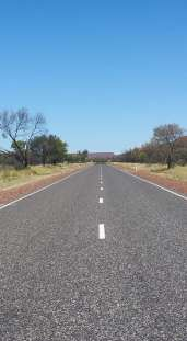 Long straight roads