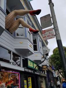 Legs in Haight Ashbury Streets