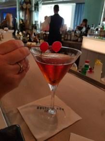 Martini on a Caribbean cruise