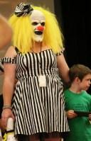 Evil Girl Clown