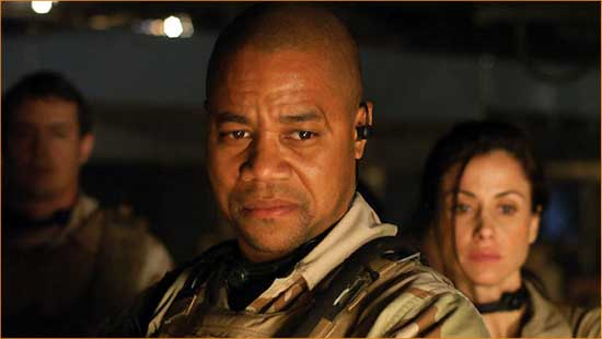 "The road to hell is paved with Cuba Gooding, Jr. movies like ""The Devil's Tomb""."