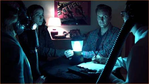 """Josh (Patrick Wilson) and Renai (Rose Byrne) and creepy goings-on in """"Insidious""""."""
