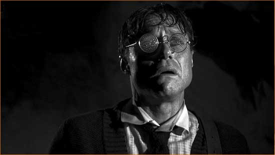 """Albert Wilmarth (Matt Foyer) unfortunately finds """"the Whisperer in Darkness""""."""