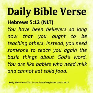 Daily Bible Verse (8-10-15)