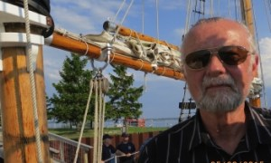 Brad Reed, Rescued on Grand Traverse Bay