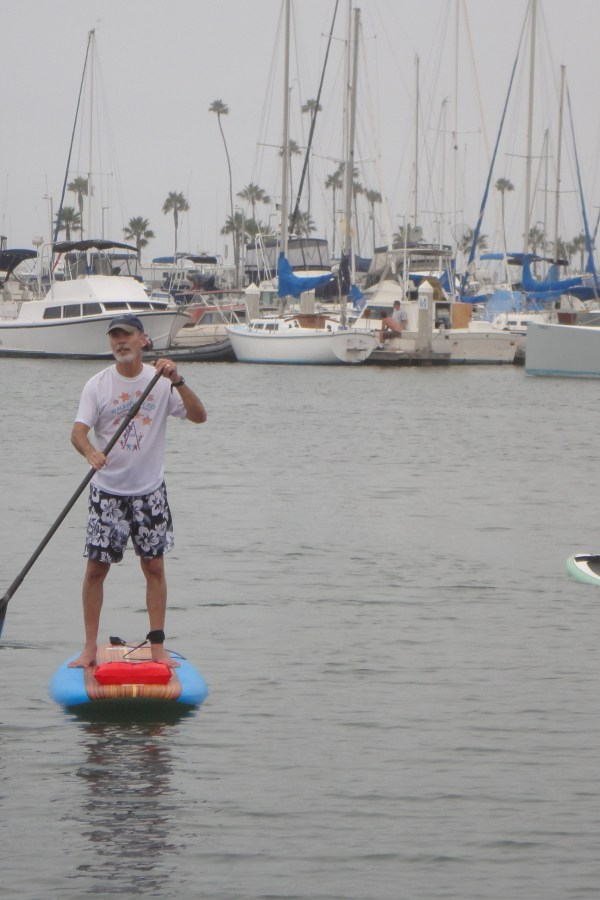 The paddle boarding incident
