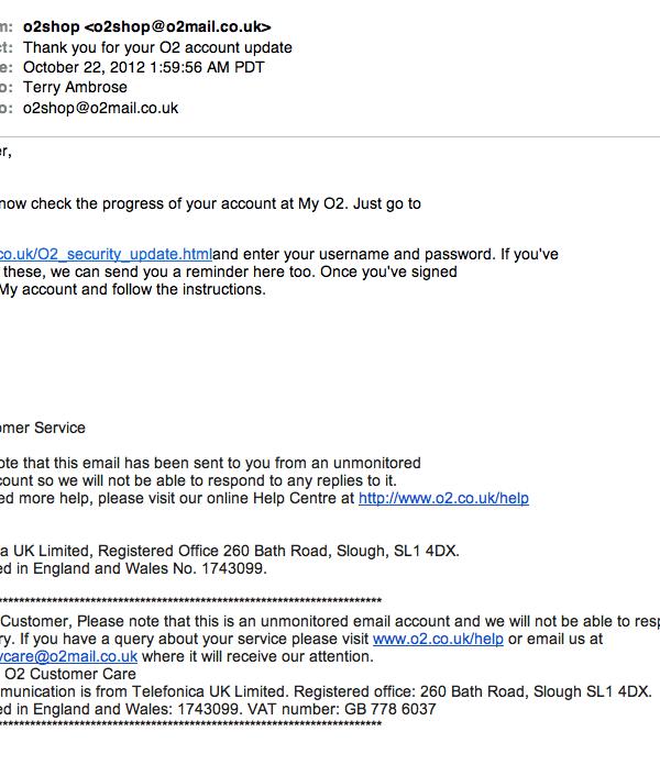 A British target, a US domain, and a Kazakstan email service