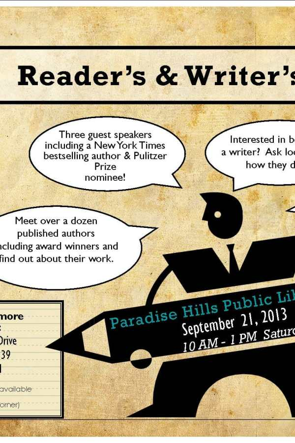 Paradise Hills Library holds a special local book event