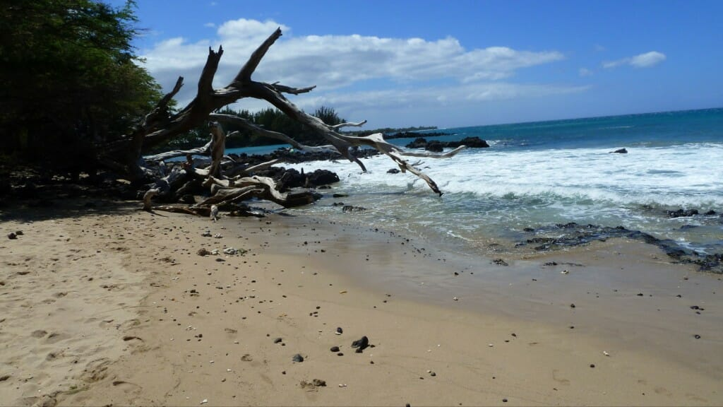 This beach shot from Puako comes courtesy of the bloggers at www.mybigislandvacation.com, who recommend it as a place to go on a windy day.