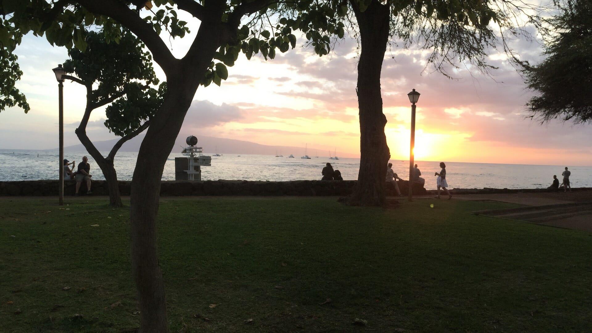 Lāhainā sunset