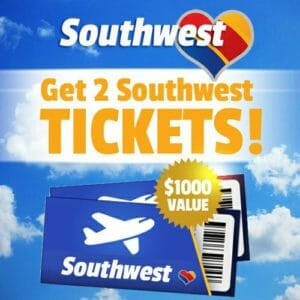 Southwest survey scam and ticket scam