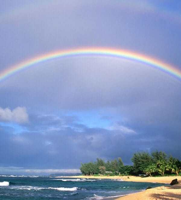 Friday Fotos — double Kauai rainbow