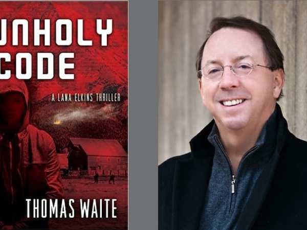 Behind the story of Unholy Code with Thomas Waite