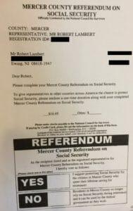 Social Security benefits scam