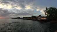Lahaina at sunset. A magnificent view in a nearly perfect location. The only problem is all the tourists!