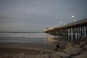 Oceanside Pier from the shore