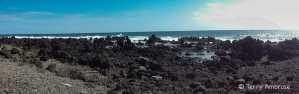 Panorama at Ka'anae Peninsula