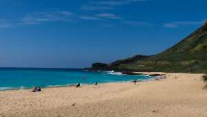 A beautiful day at Oahu's Sandy Beach