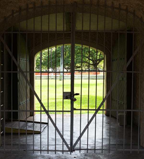 Friday Fotos – At the Iolani Palace gate