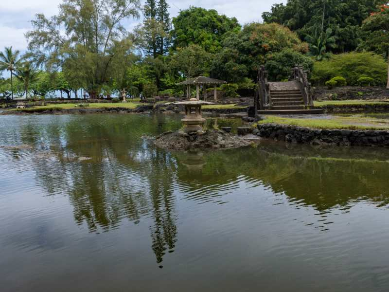 Reflections at Liliuokalani Gardens