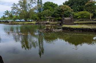 Reflections at Liliuokalani Gardens
