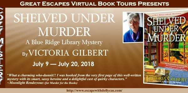 Behind the story of Shelved Under Murder by Victoria Gilbert