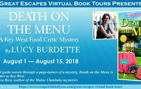 Behind the story of Death on the Menu by Lucy Burdette