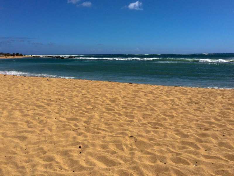 Salt Pond Beach on a glorious tropical day