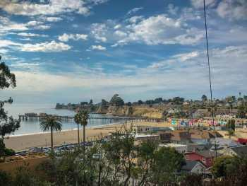 Looking over Capitola