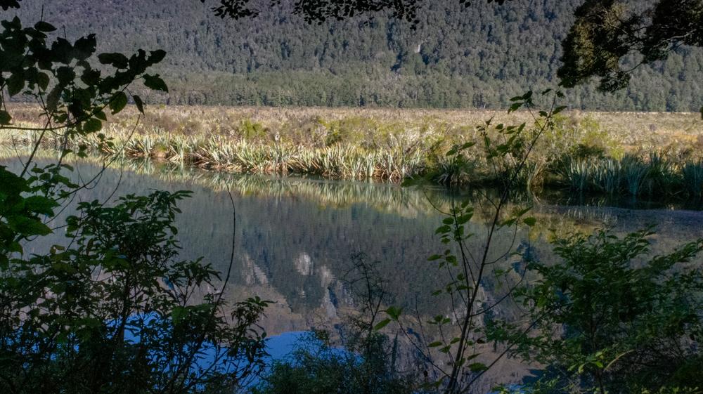 Mirror Lakes reflection