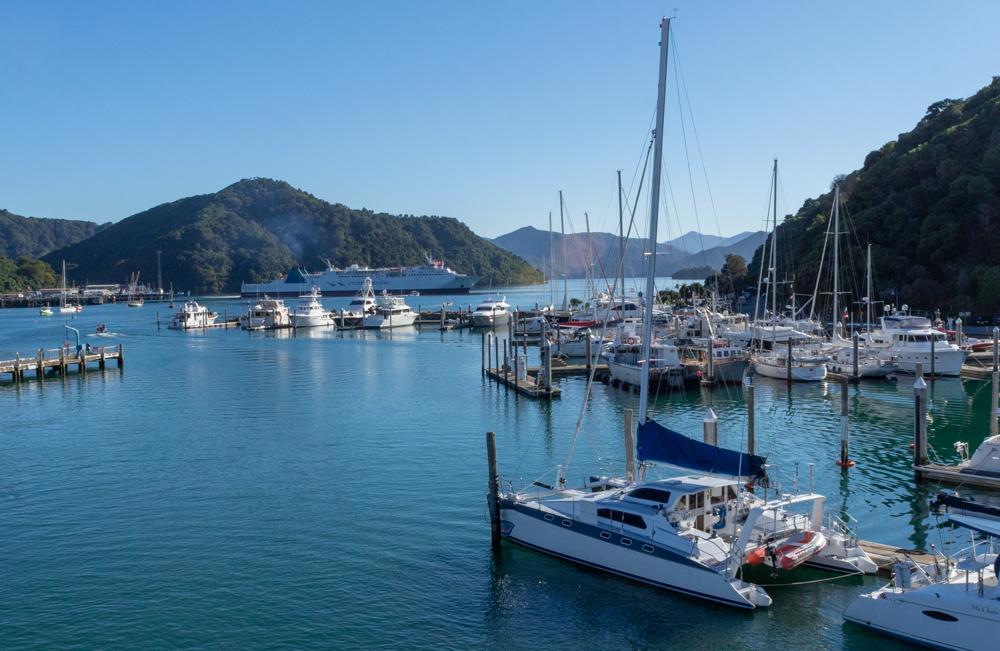 Picton - a small seaport village