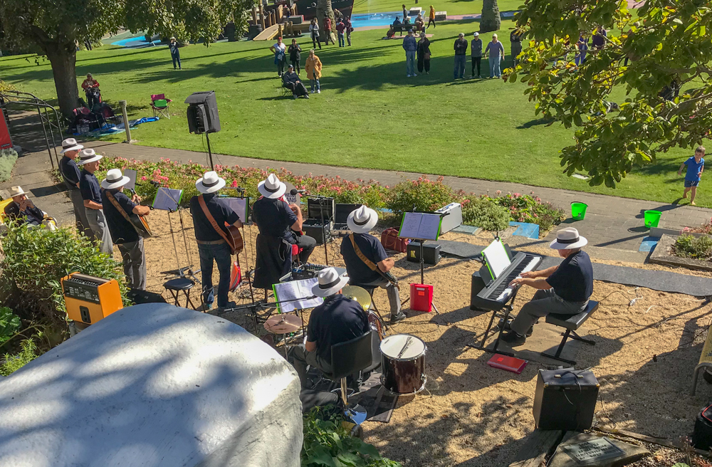 Playing to benefit the Blenheim Orphanage