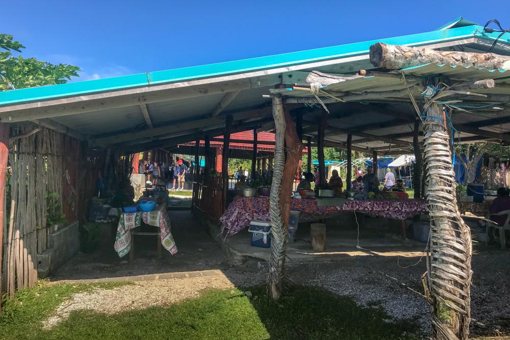 Market at Lifou